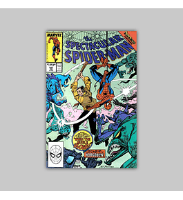 Peter Parker, the Spectacular Spider-Man 147 VF (8.0) 1989
