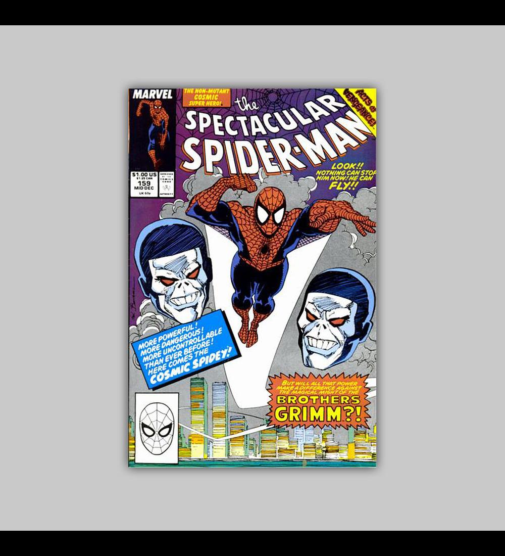Peter Parker, the Spectacular Spider-Man 159 1990