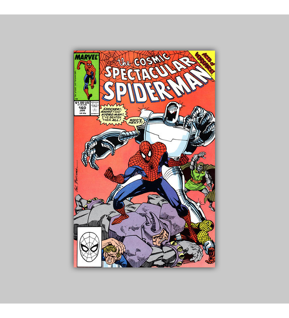 Peter Parker, the Spectacular Spider-Man 160 1991