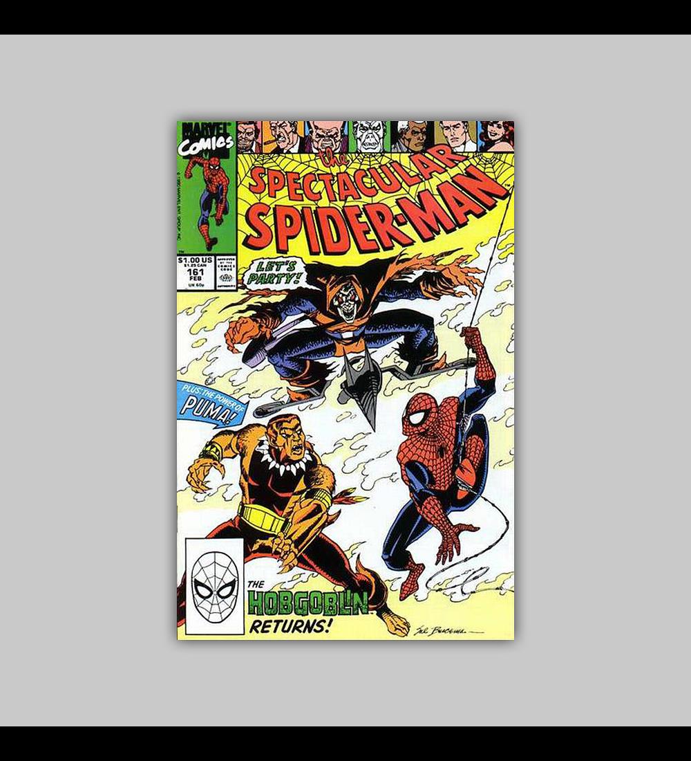 Peter Parker, the Spectacular Spider-Man 161 1991