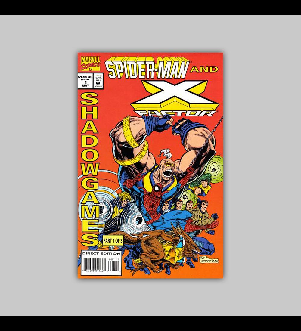 Spider-Man & X-Factor: Shadowgames 1 1994