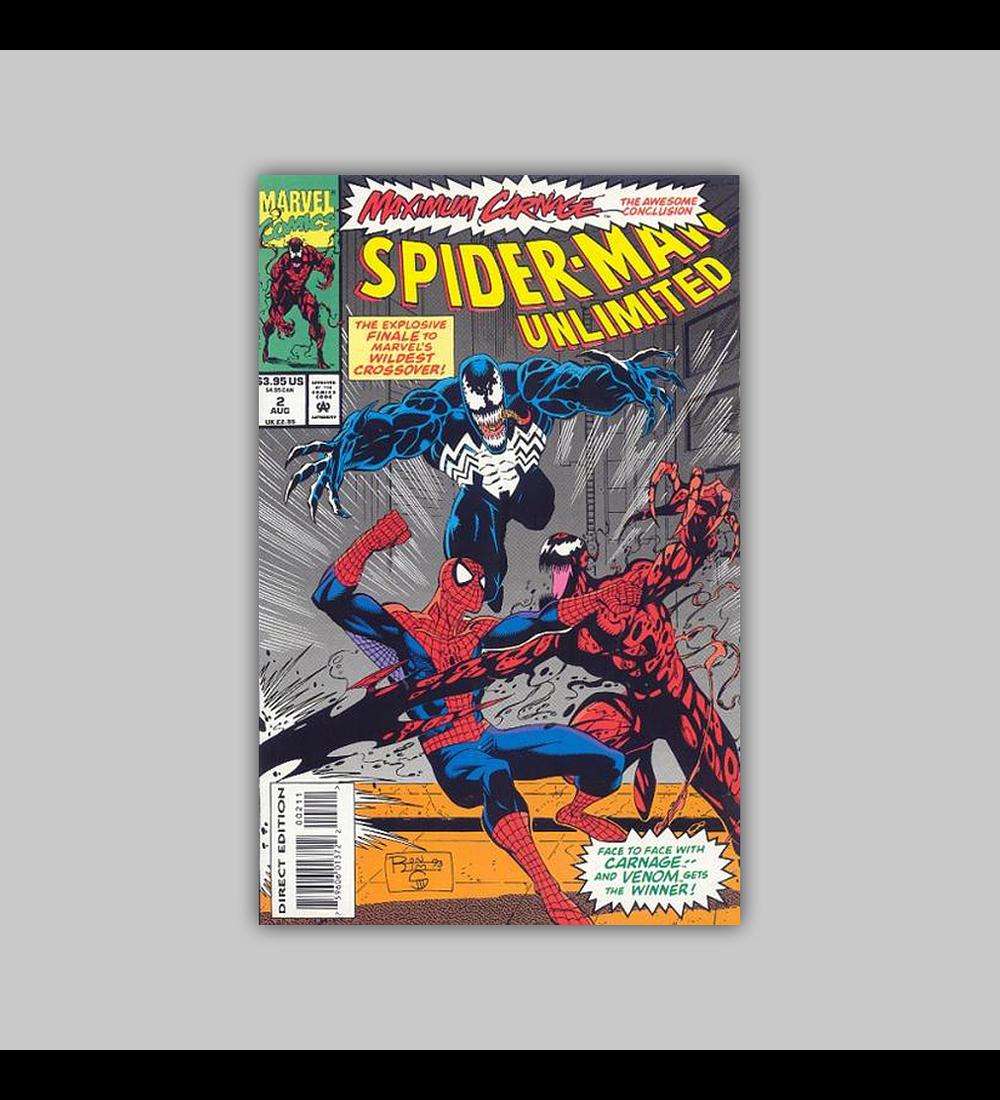 Spider-Man Unlimited 2 1993