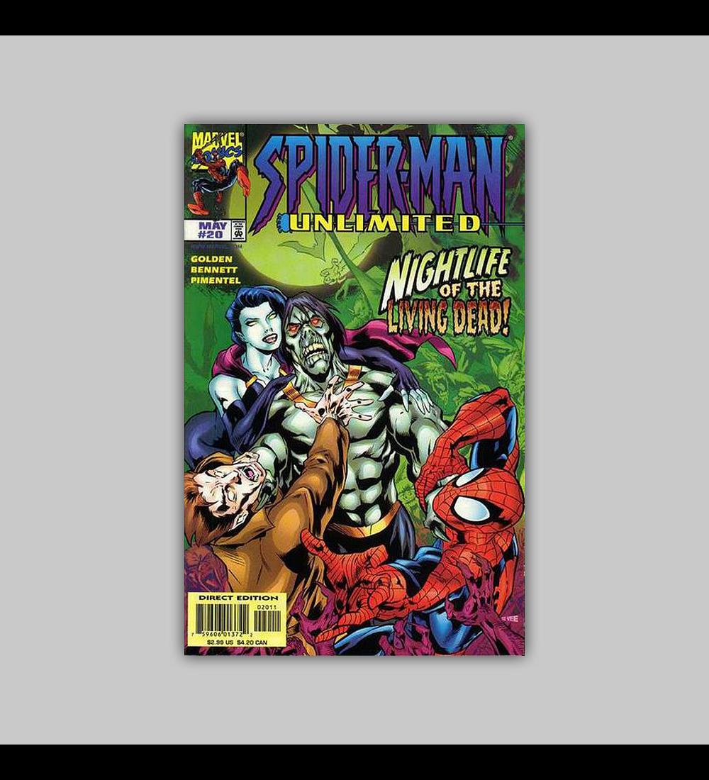 Spider-Man Unlimited 20 1998