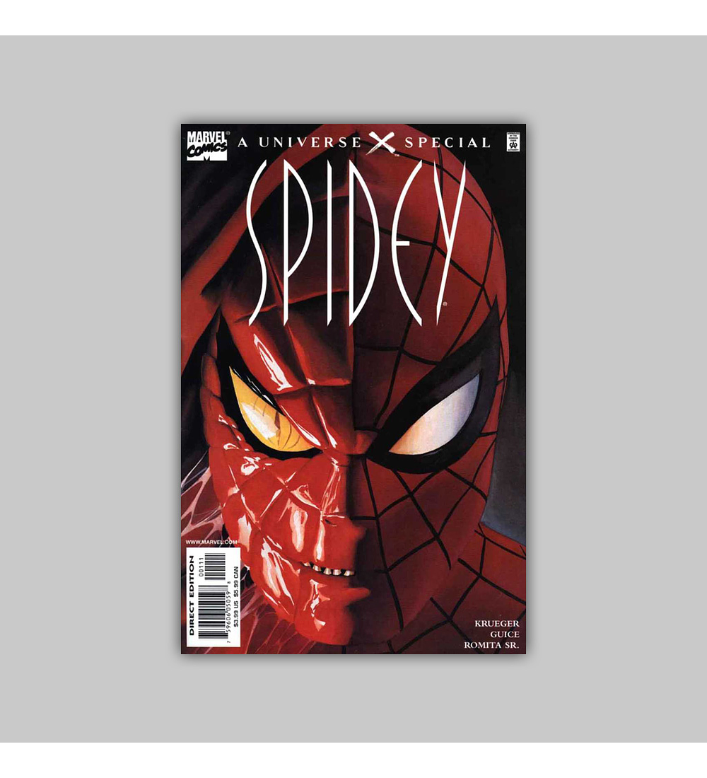 Spidey: A Universe X Special 2001