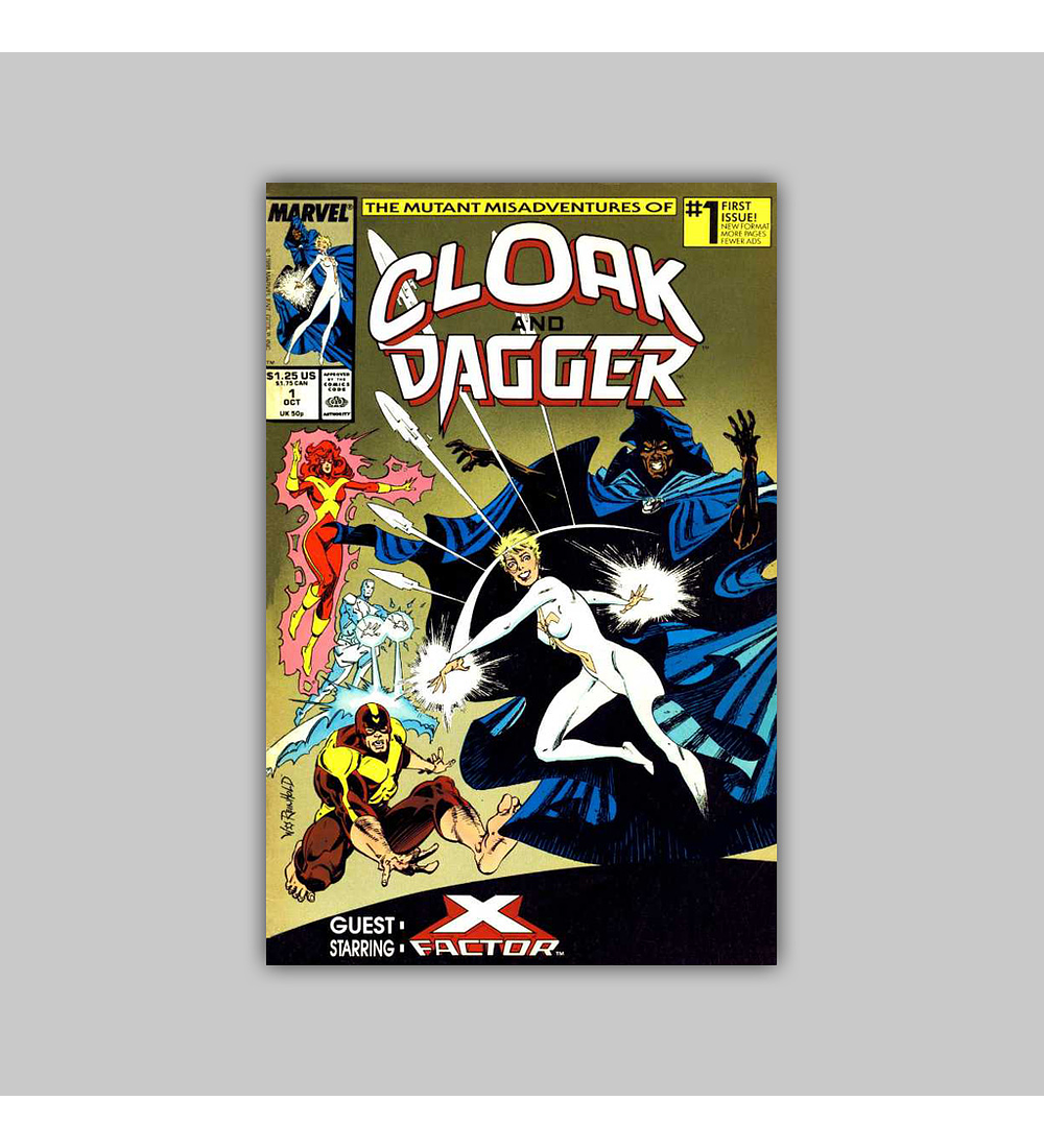The Mutant Misadventures of Cloak and Dagger 1 1988