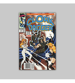 The Mutant Misadventures of Cloak and Dagger 10 VF (8.0) 1990
