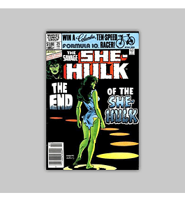 The Savage She-Hulk 25 FN (6.0) 1982