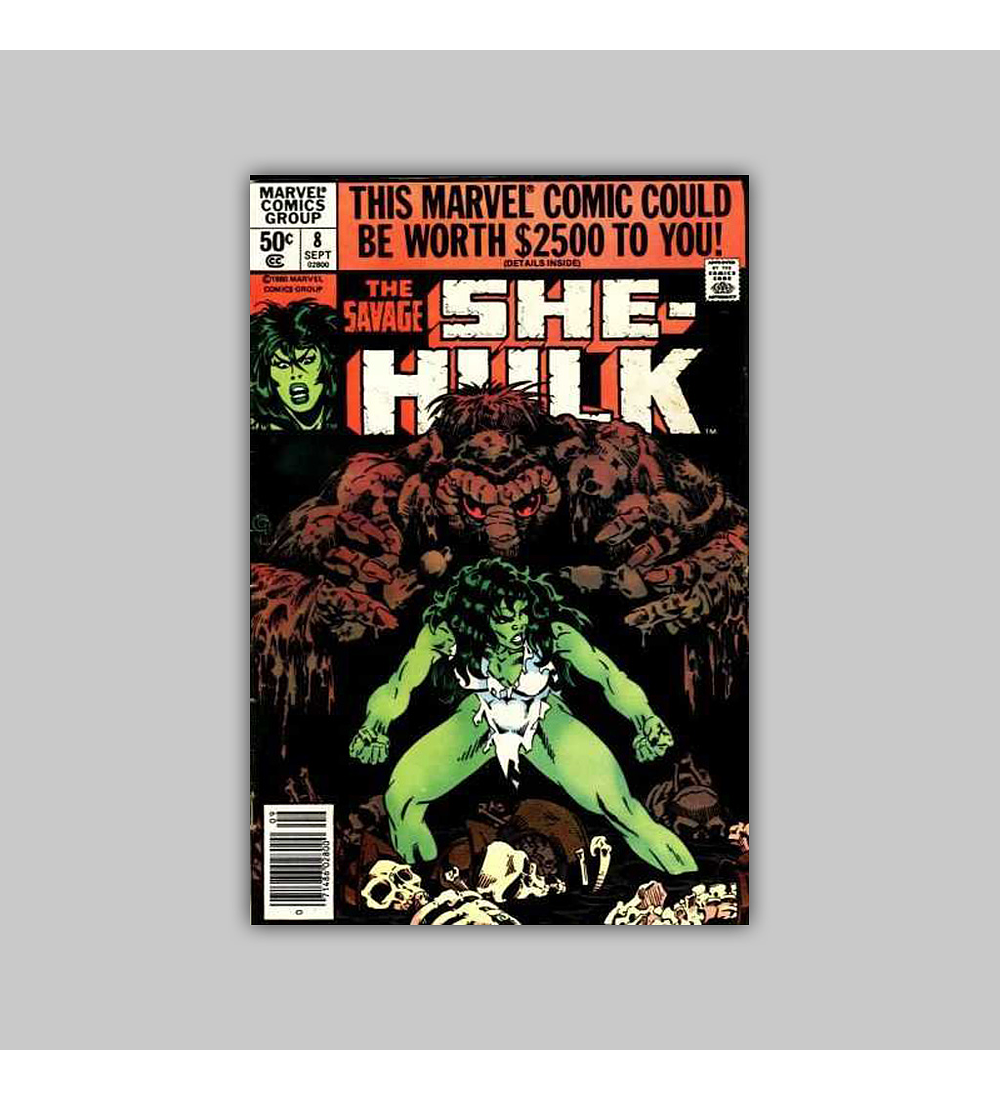 The Savage She-Hulk 8 1980