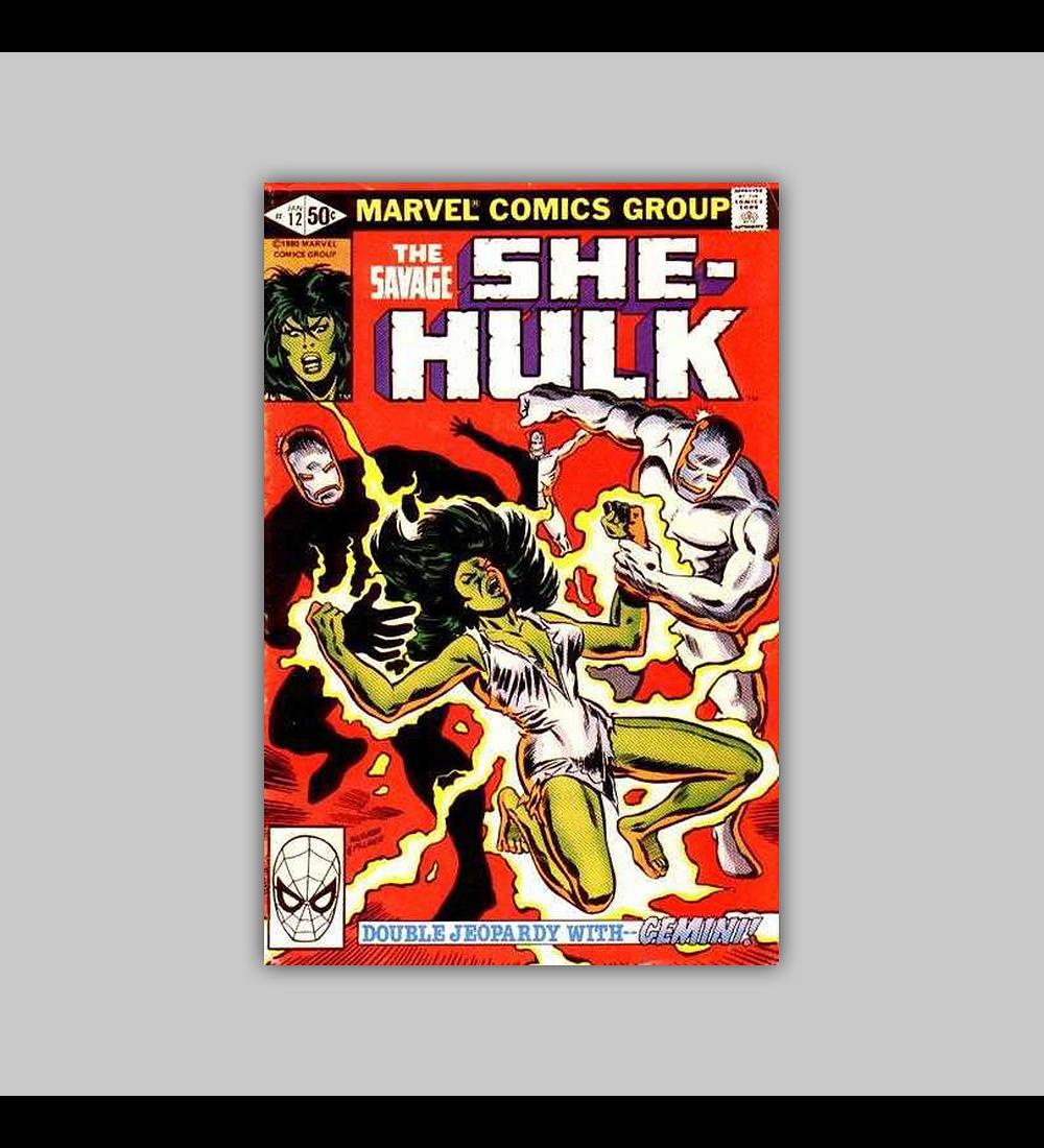 The Savage She-Hulk 12 1981