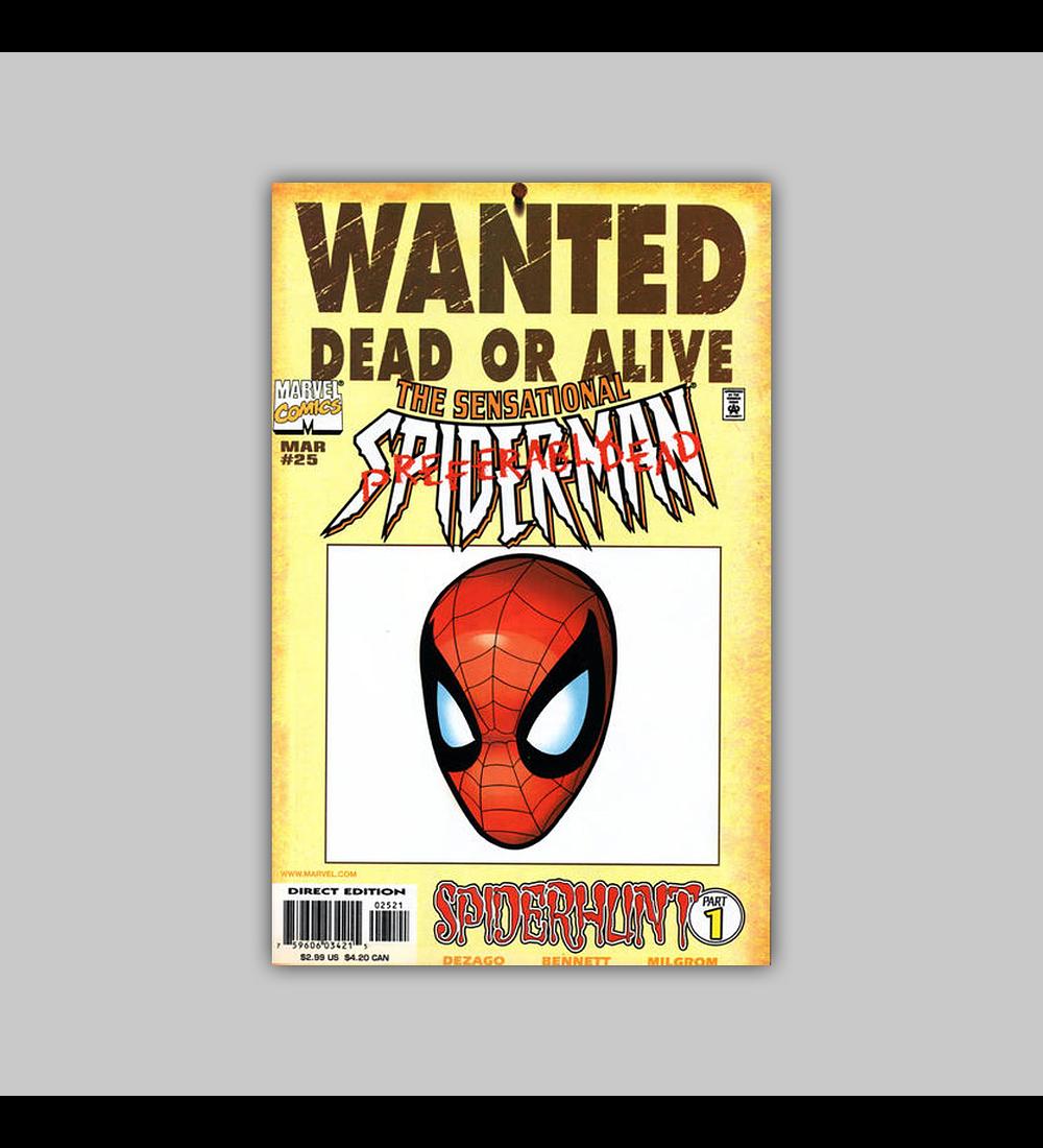The Sensational Spider-Man 25 B 1998