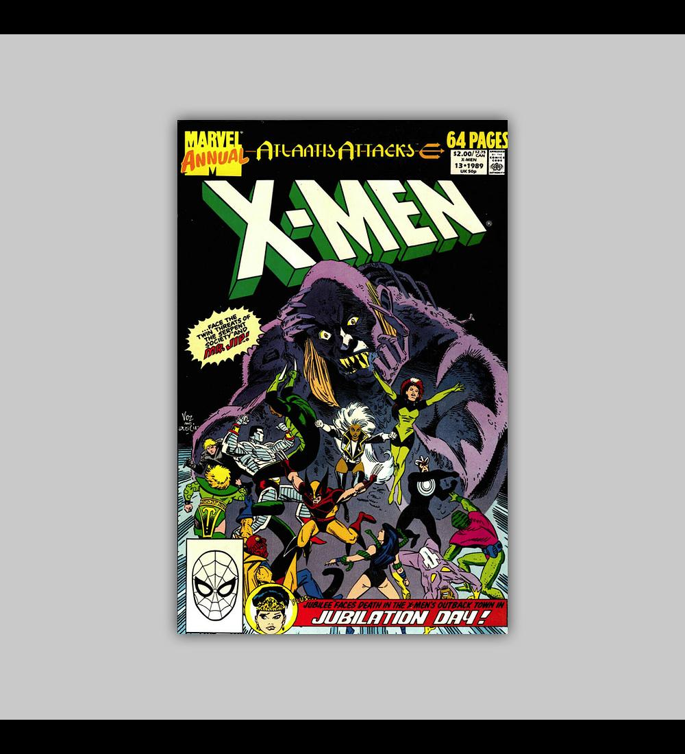 Uncanny X-Men Annual 13 1989