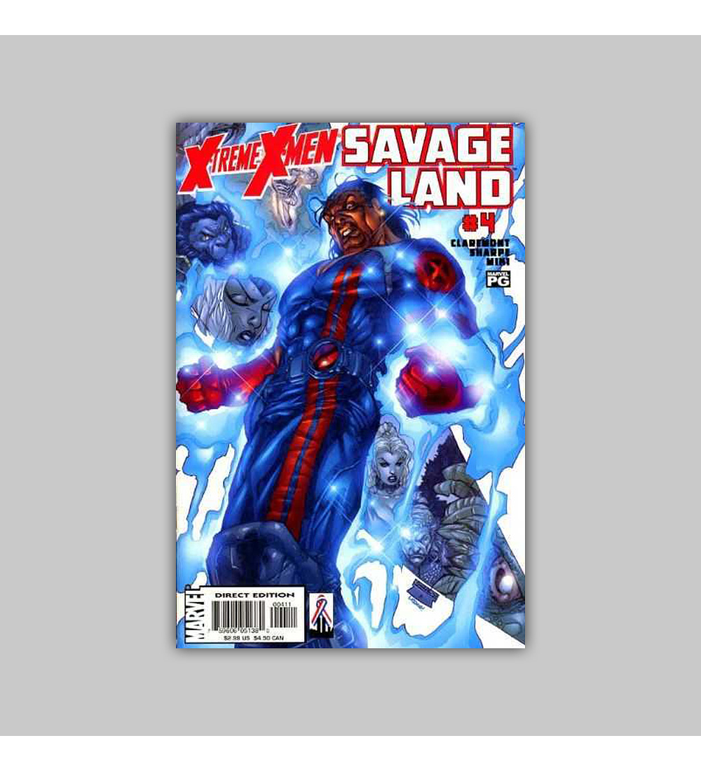 X-Treme X-Men: Savage Land 4 2001