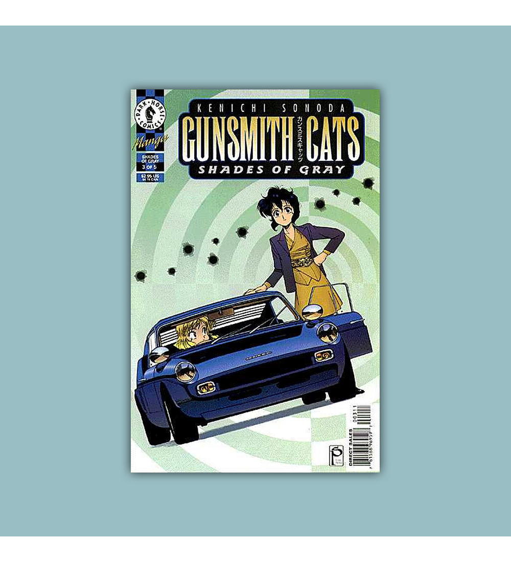 Gunsmith Cats: Shades of Gray (complete limited series) 1997
