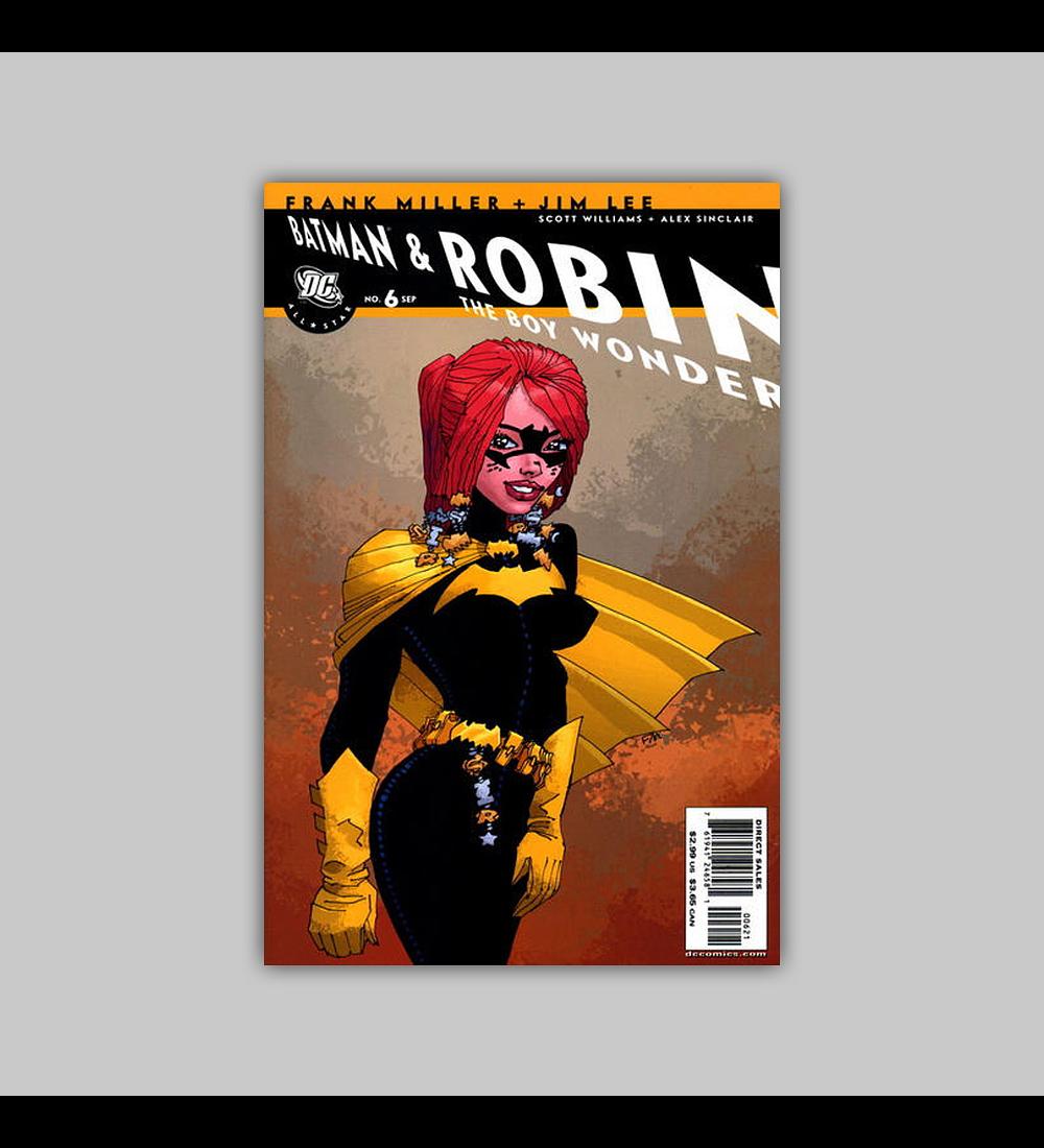 All Star Batman and Robin the Boy Wonder 6 B 2006