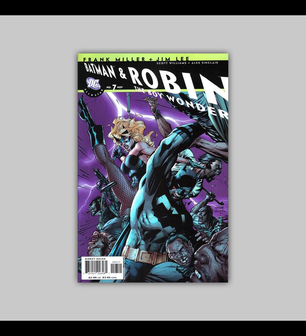 All Star Batman and Robin the Boy Wonder 7 2007