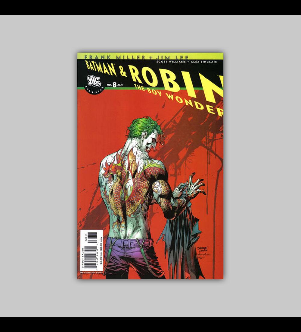 All Star Batman and Robin the Boy Wonder 8 2008