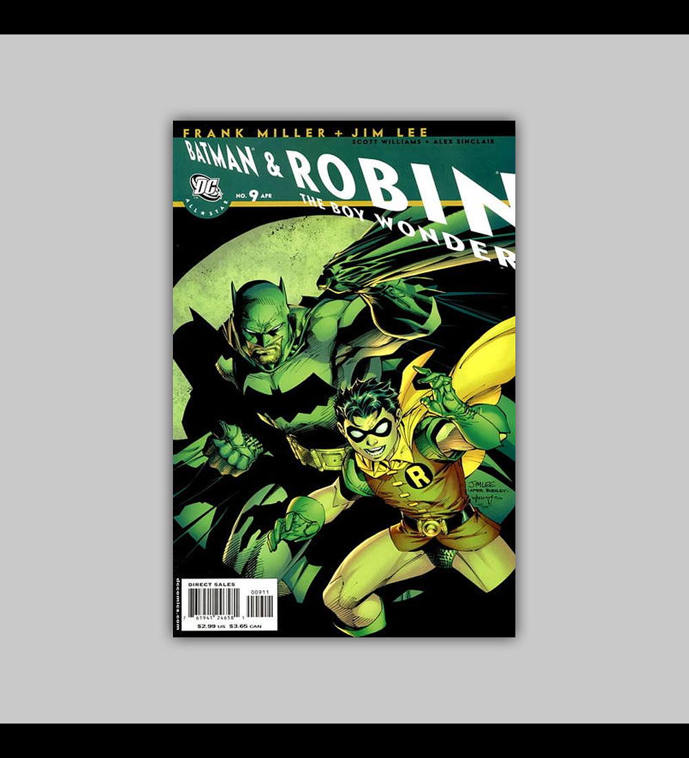 All Star Batman and Robin the Boy Wonder 9 2008
