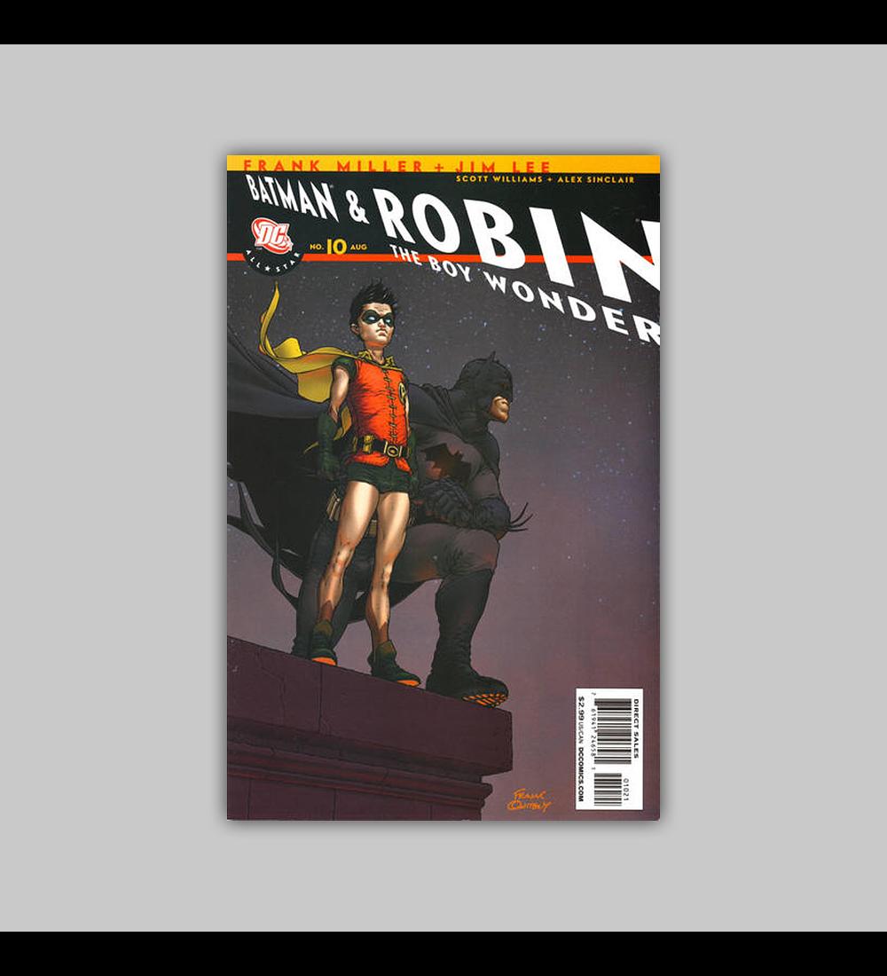 All Star Batman and Robin the Boy Wonder 10 B 2008