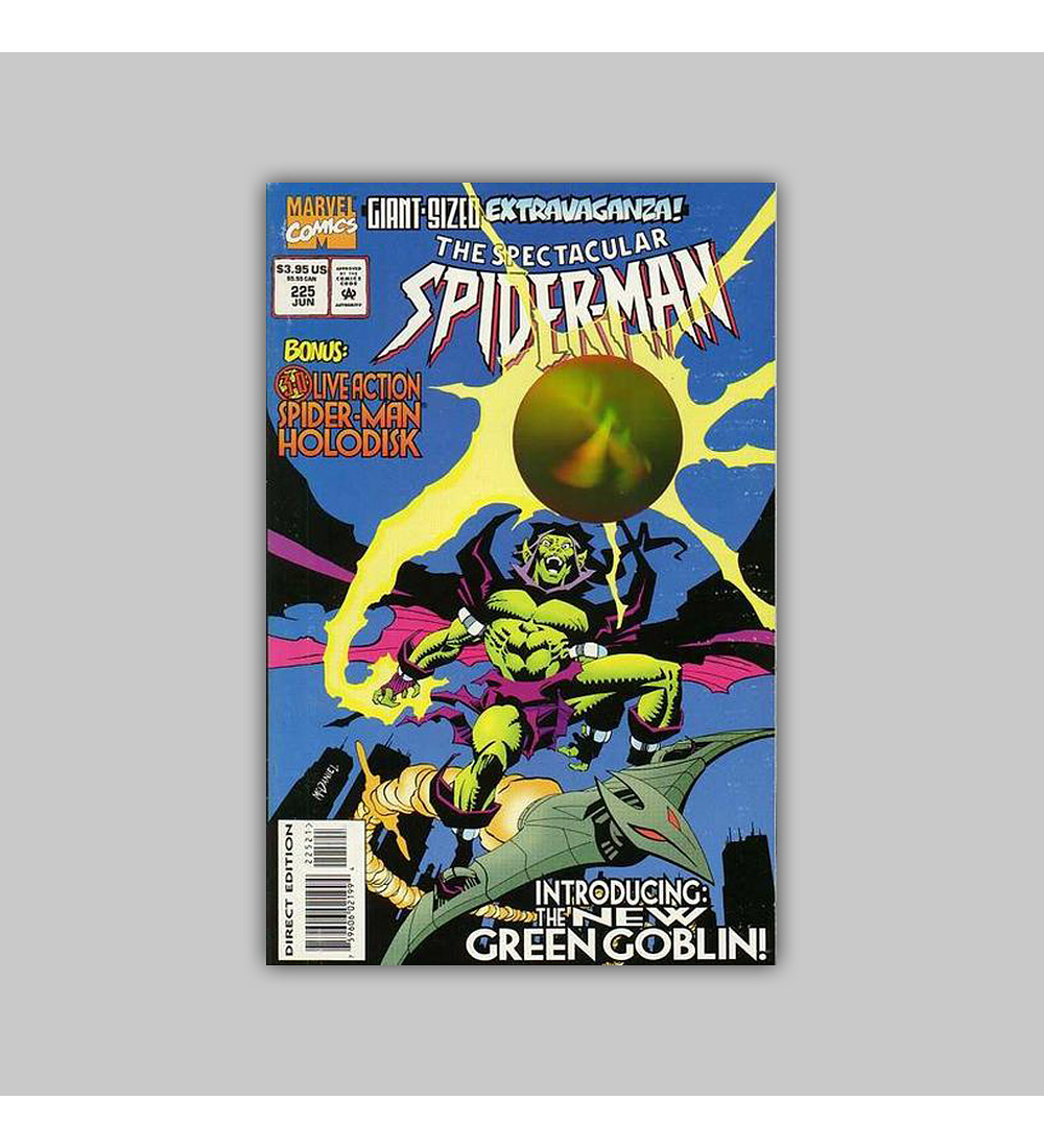 Spectacular Spider-Man 225 Hologram 1995