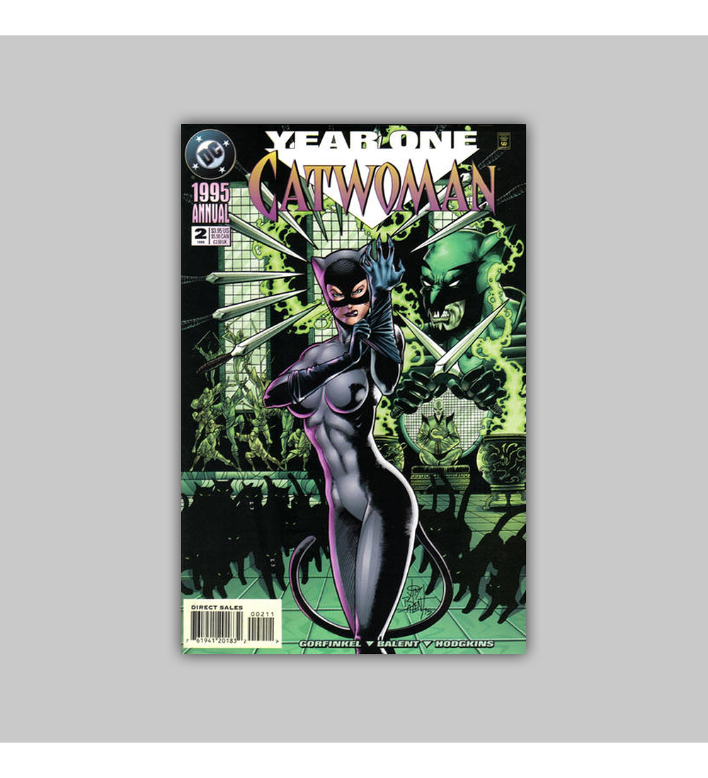 Catwoman Annual 2 1995