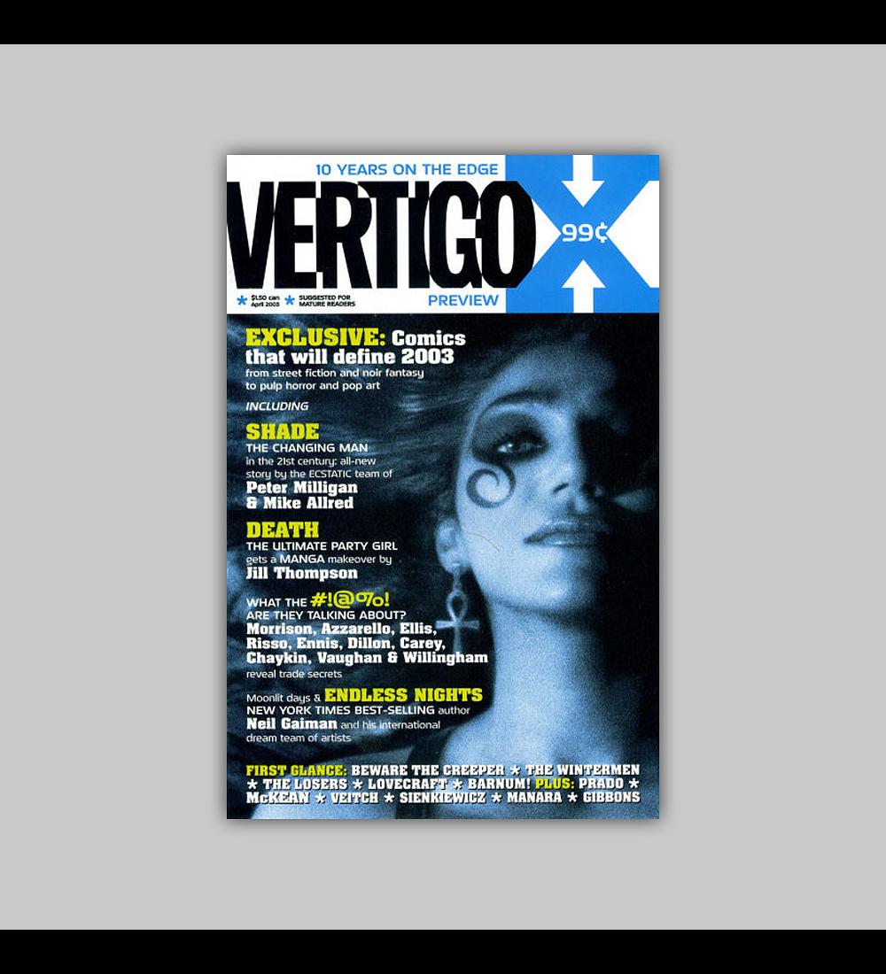 Vertigo X Preview 2003