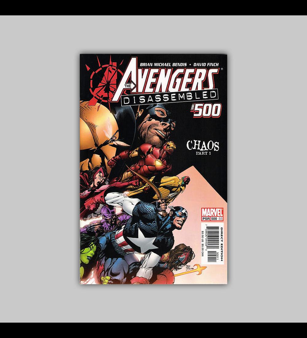 Avengers (Vol. 3) 500 2004