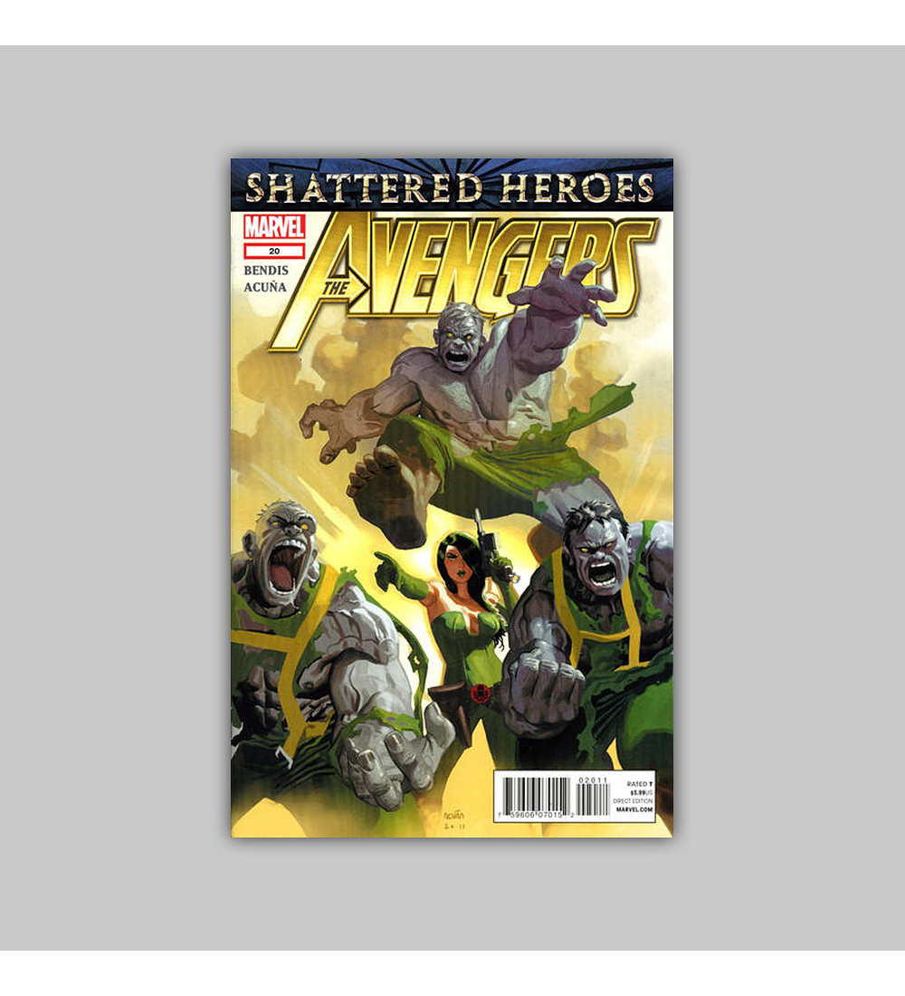 Avengers (Vol. 4) 20 2012