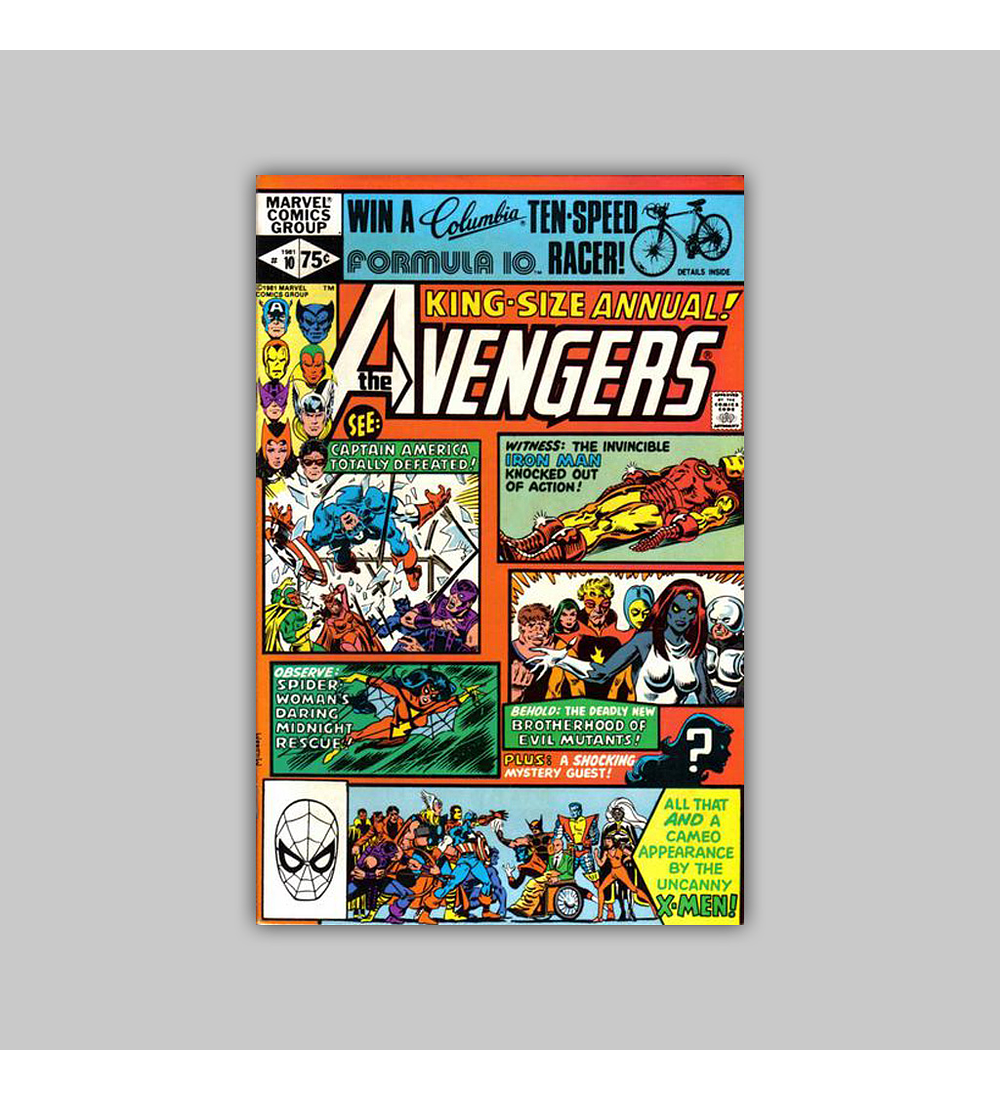 Avengers Annual 10 VF/NM (9.0) 1981