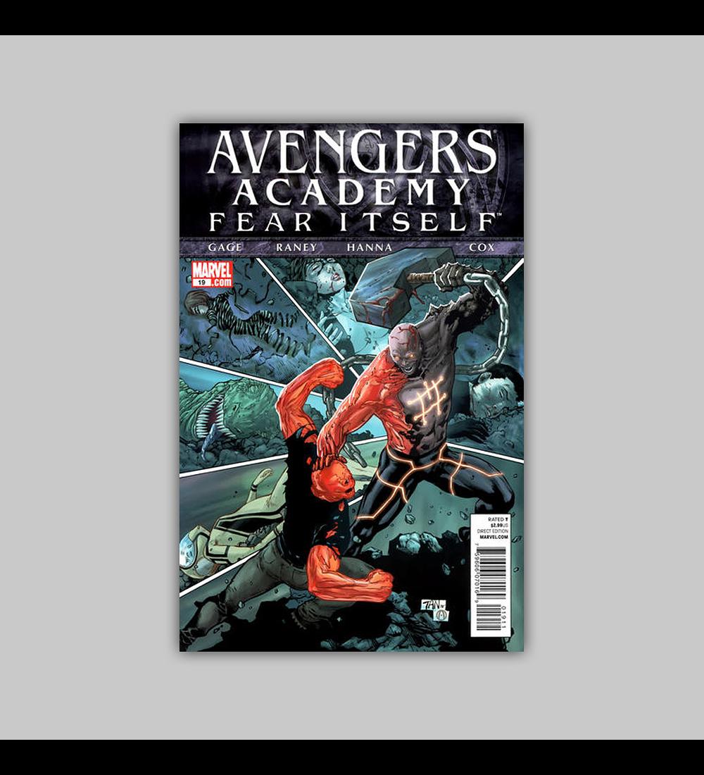 Avengers: Academy 19 2011