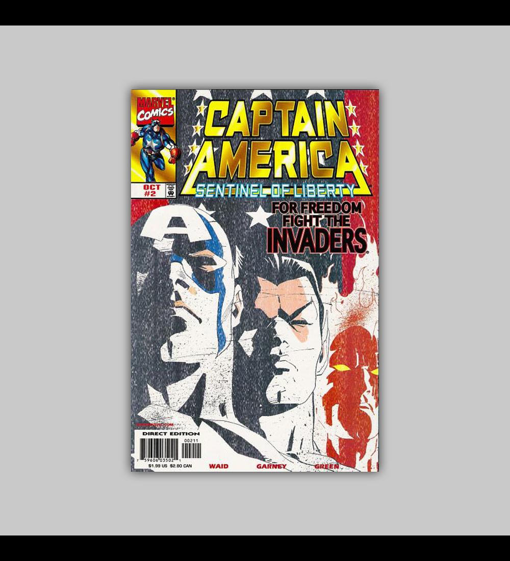 Captain America: Sentinel of Liberty 2 1998