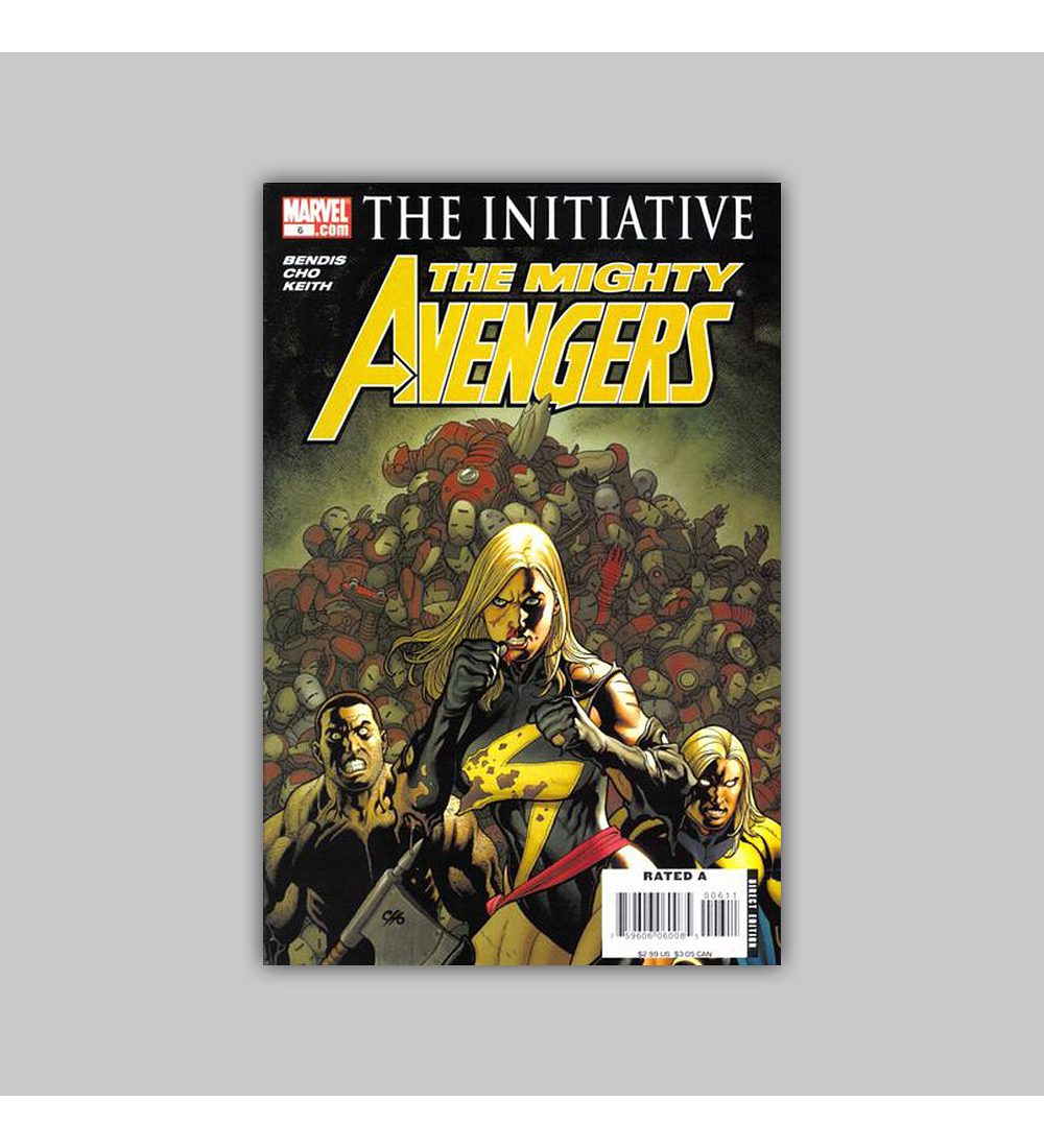 Mighty Avengers 6 2007