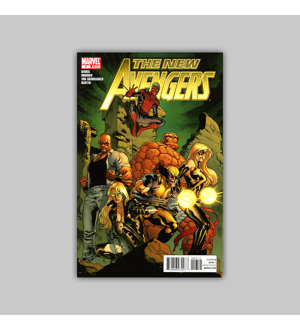 New Avengers (Vol. 2) 7 2011