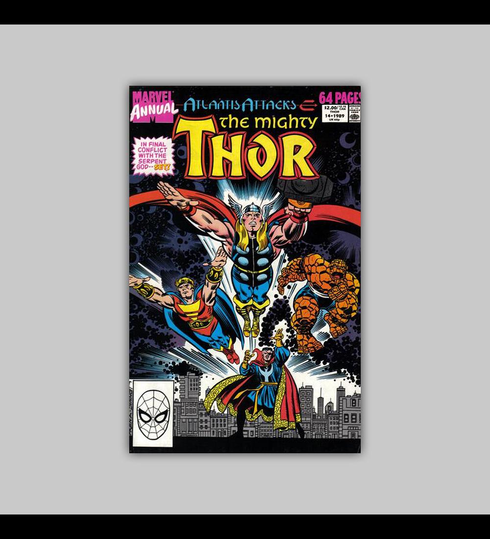 Thor Annual 14 1989