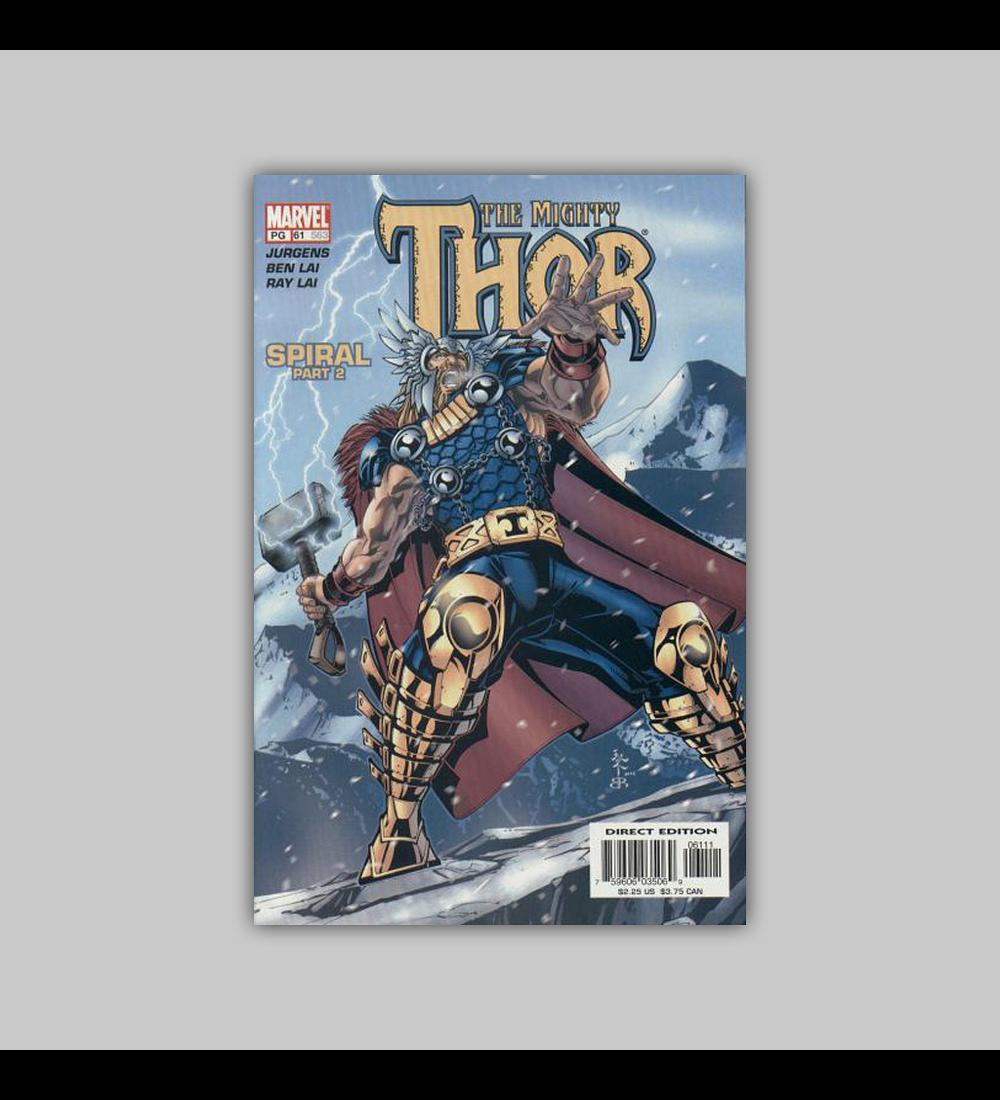 Thor (Vol. 2) 61 2003
