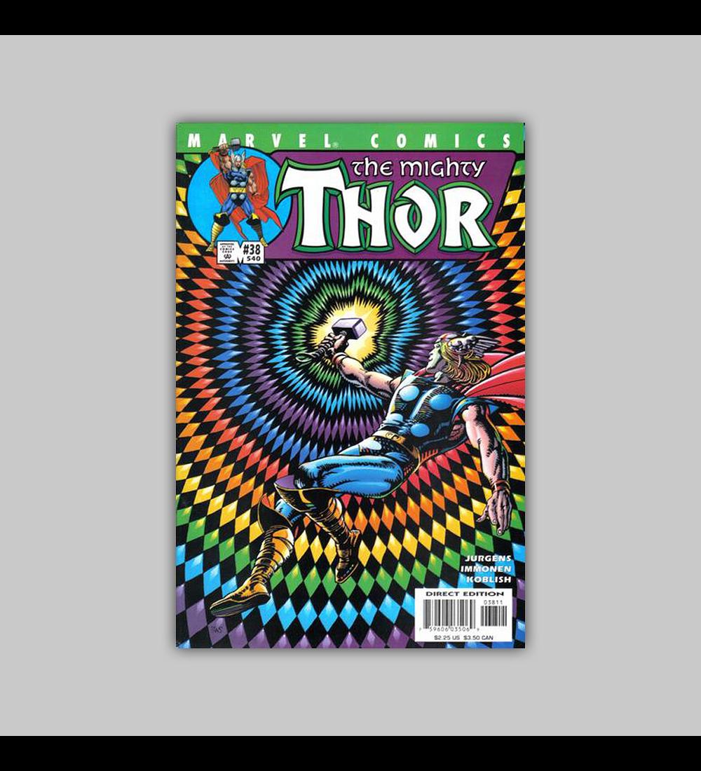 Thor (Vol. 2) 38 2001