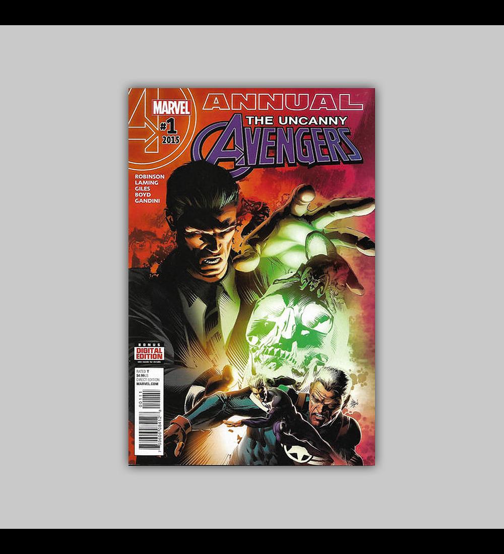 Uncanny Avengers Annual 1 2016
