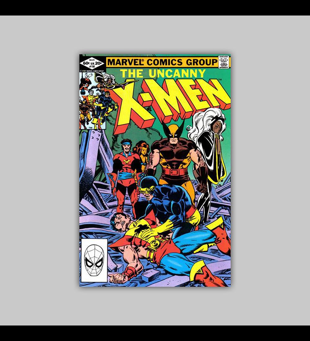 Uncanny X-Men 155 1982