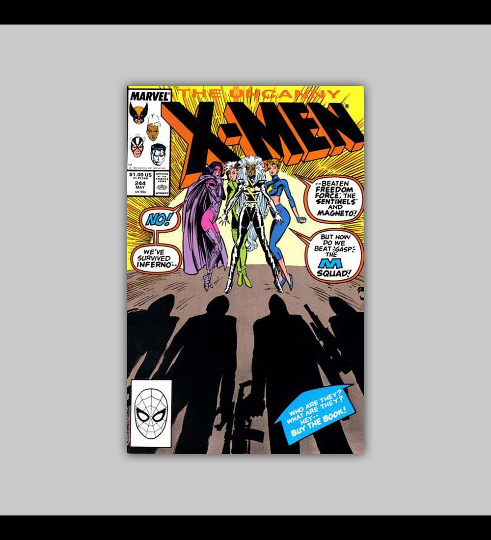 Uncanny X-Men 244 1989