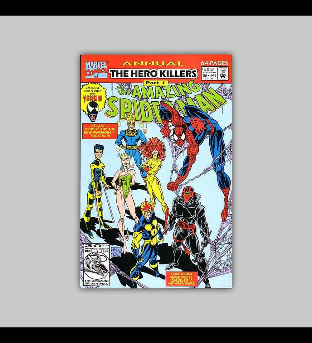 Amazing Spider-Man Annual 26 1992