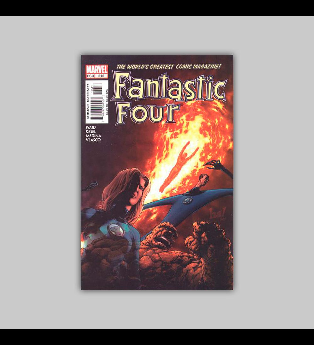 Fantastic Four (Vol. 3) 515 2004