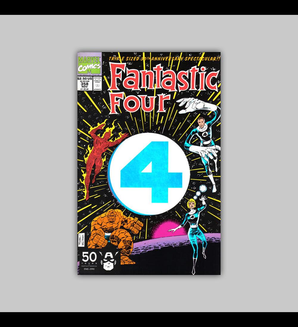 Fantastic Four 358 Die-Cut 1991