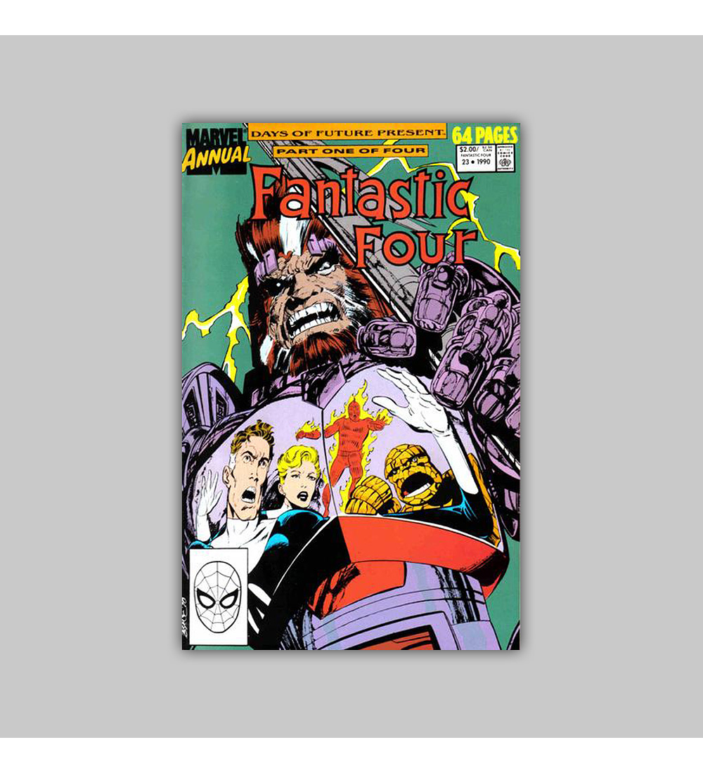 Fantastic Four Annual 23 1990