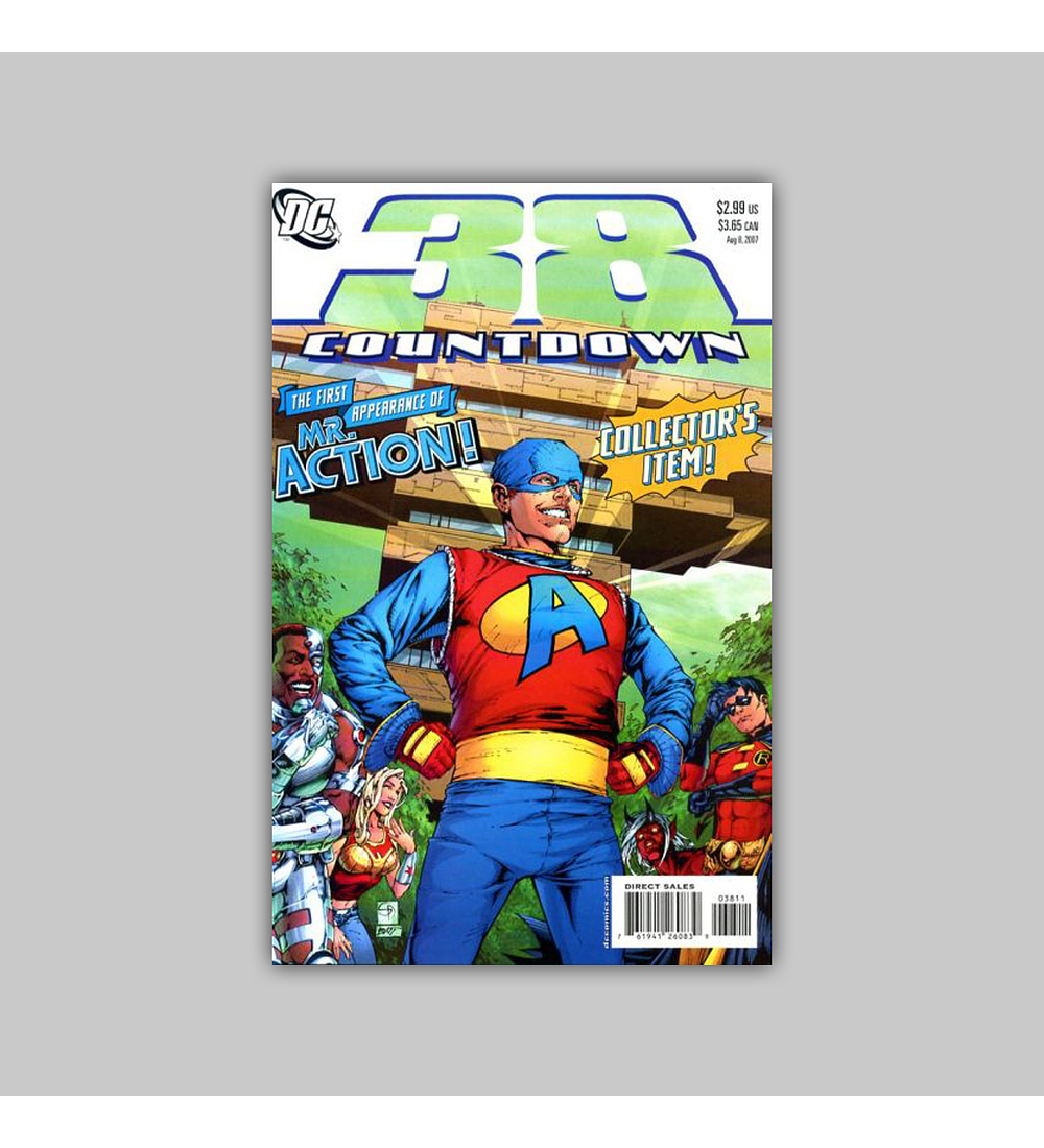 Countdown to Final Crisis 38 2007