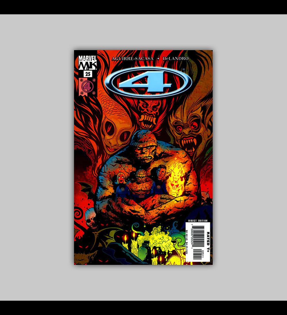Marvel Knights 4 25 2006