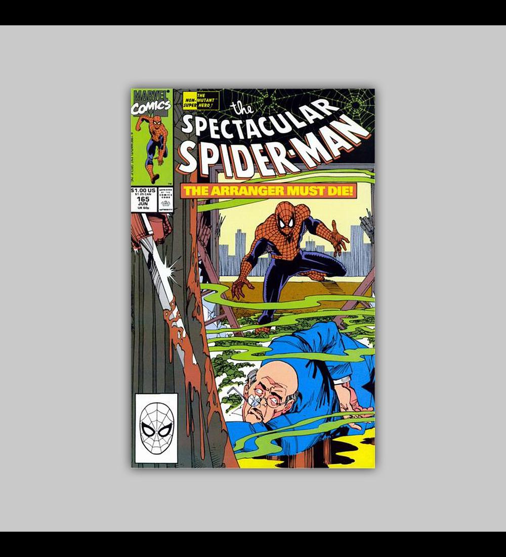 Spectacular Spider-Man 165 1990
