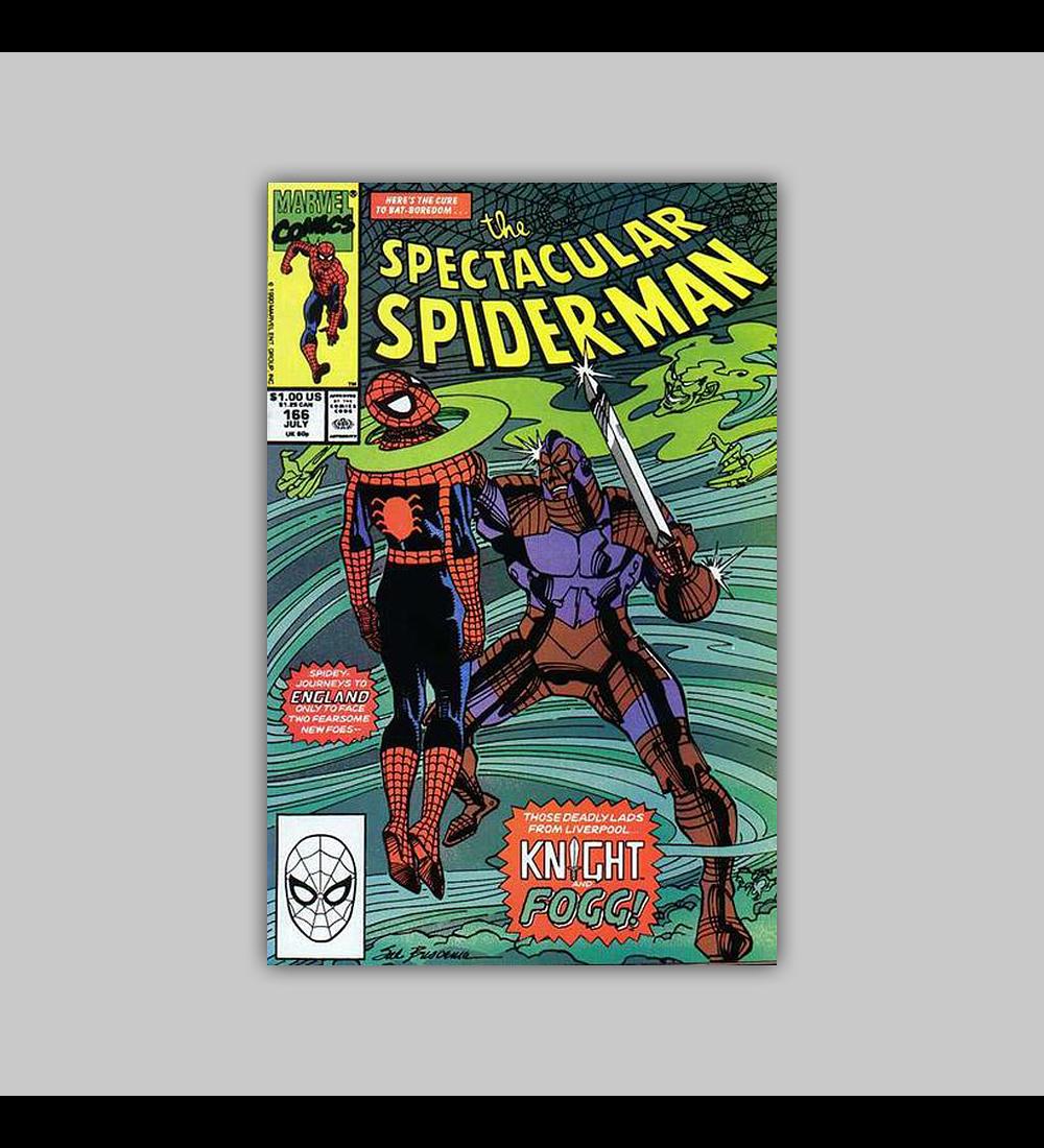 Spectacular Spider-Man 166 1990