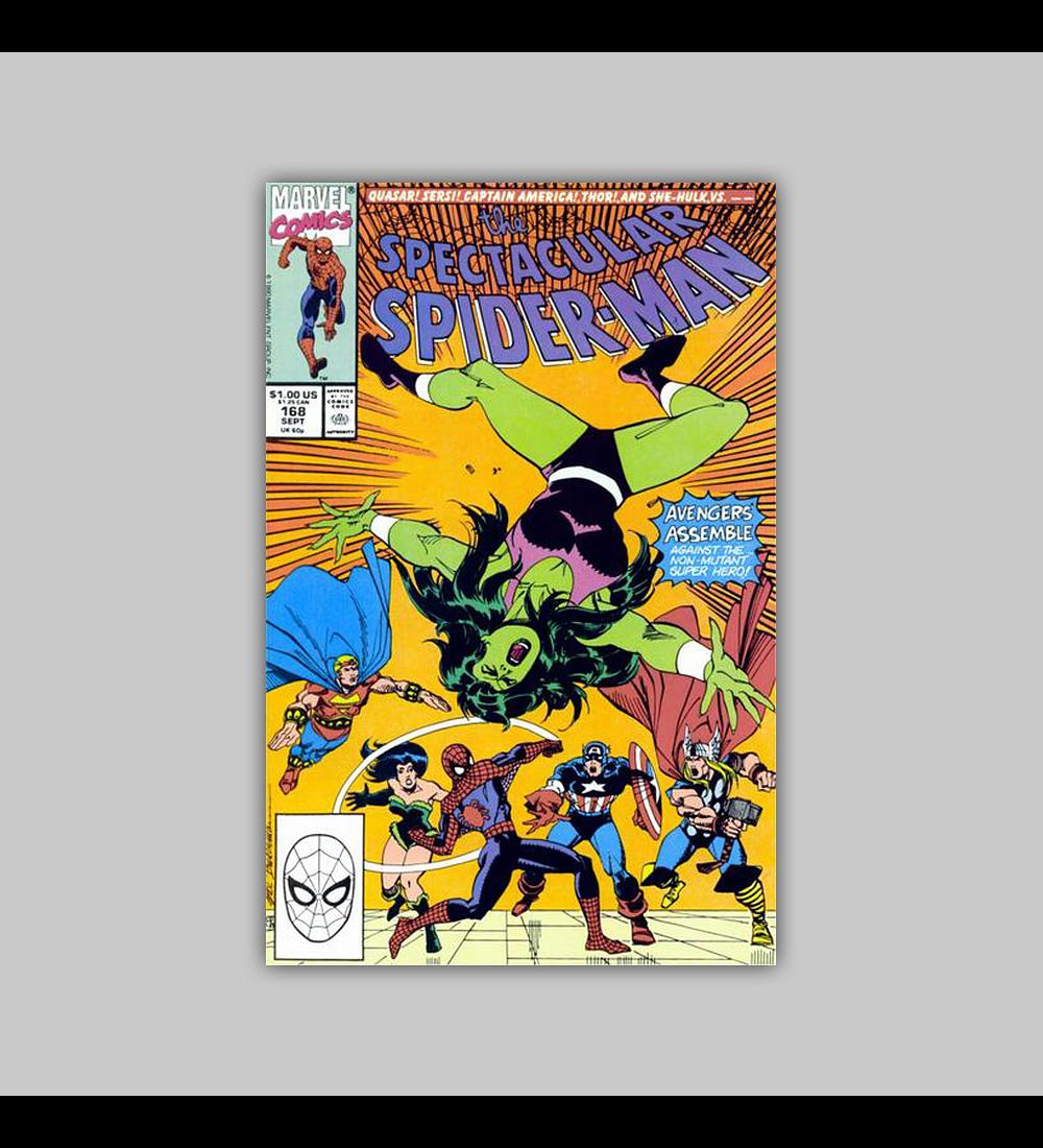 Spectacular Spider-Man 168 1990