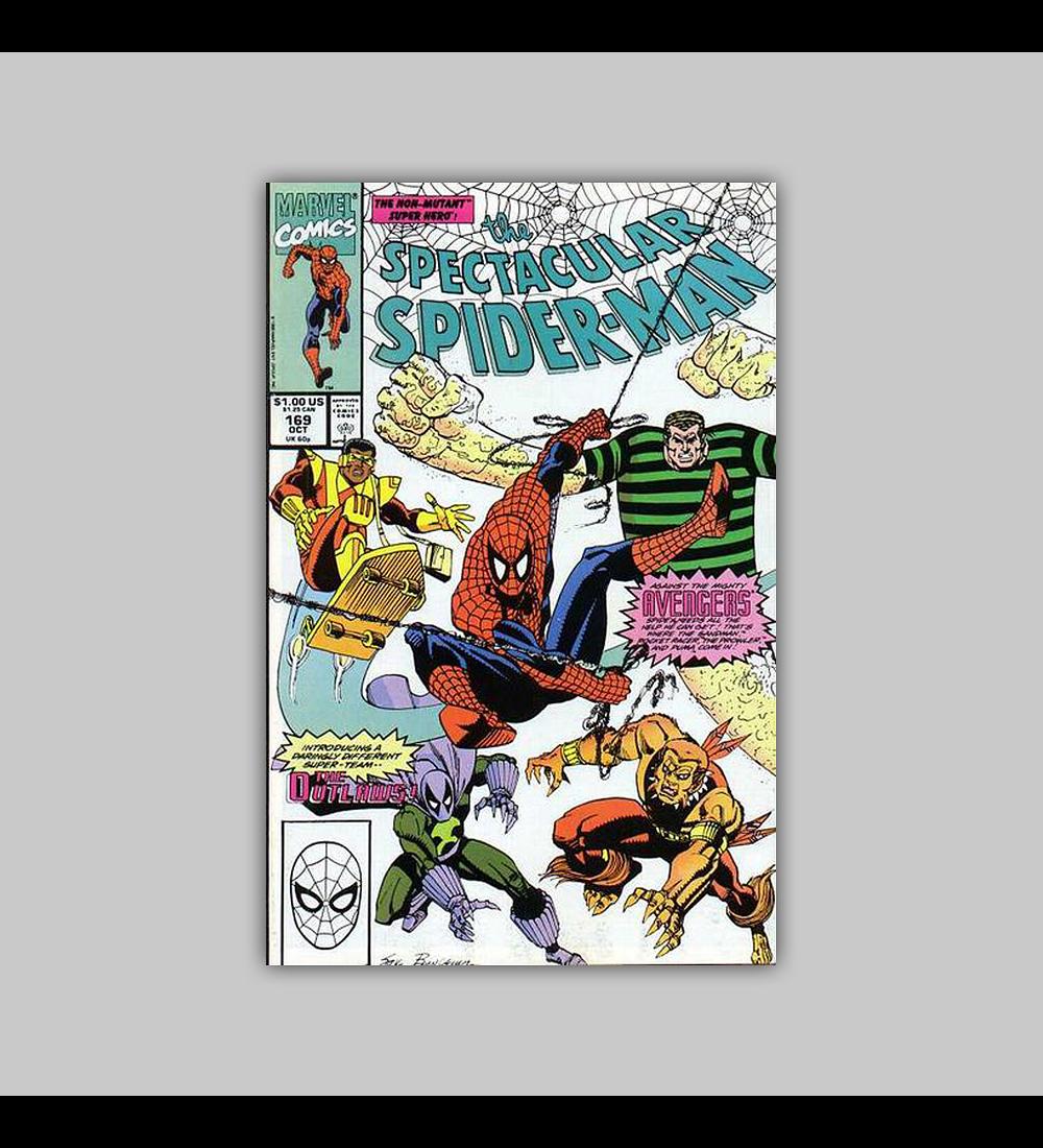 Spectacular Spider-Man 169 1990