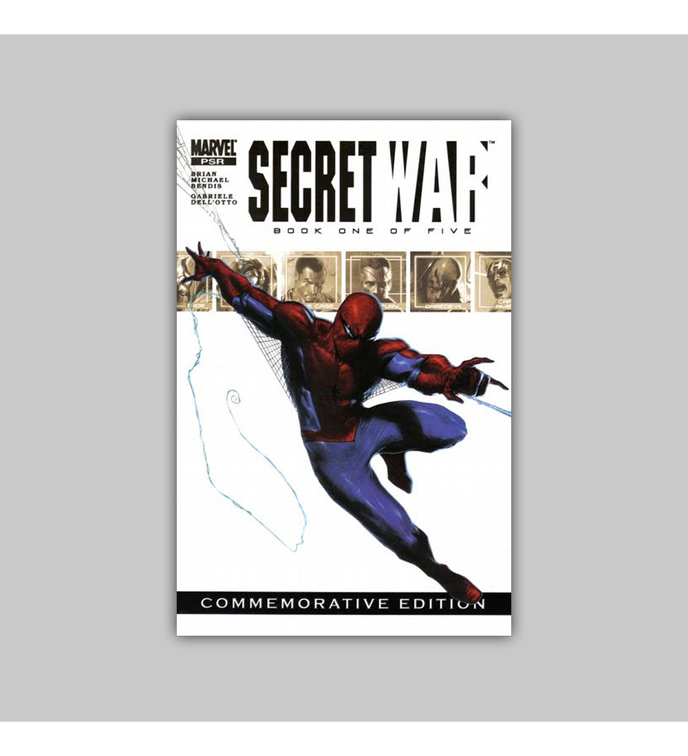 Secret War 1 2nd Print 2004