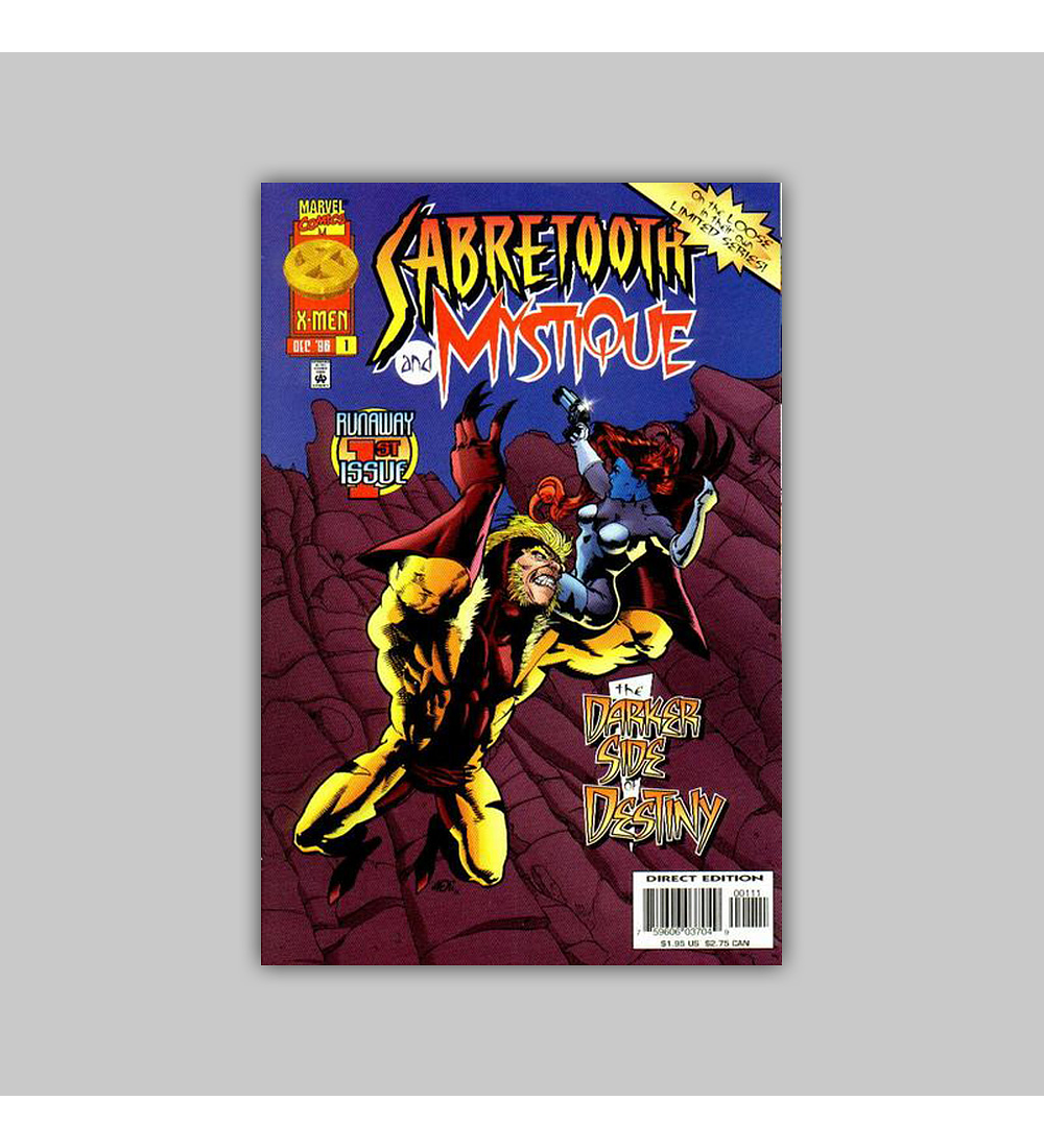 Sabretooth and Mystique 1 1996